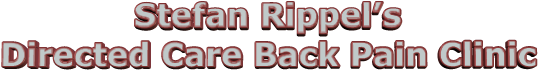 Stefan Rippel's Directed Care Back Pain Clinic